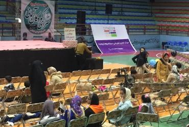 حضور مادران و کودکان ارومیه ای در سالن جوان با حمایت سیتادیوم