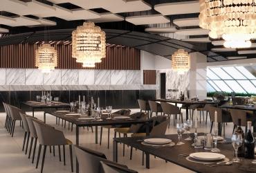 رستوران مرکز تجاری اداری فیروزه