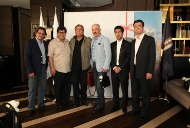 مراسم لانچ پروژه لکسون در جمع هنرمندان