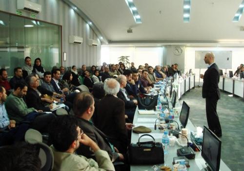مهندس بشیر انیسی در جمع اعضای نظام مهندسی شهر تهران