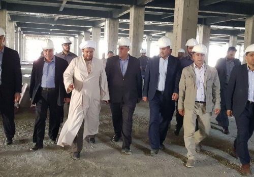 Expresses the satisfaction of the officials of Urmia city about the physical progress of Urmia City project
